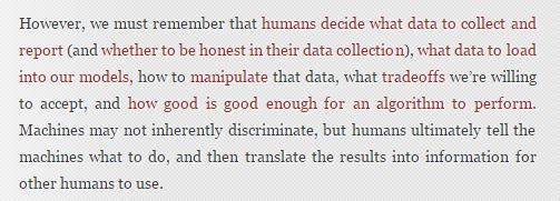 humans decide